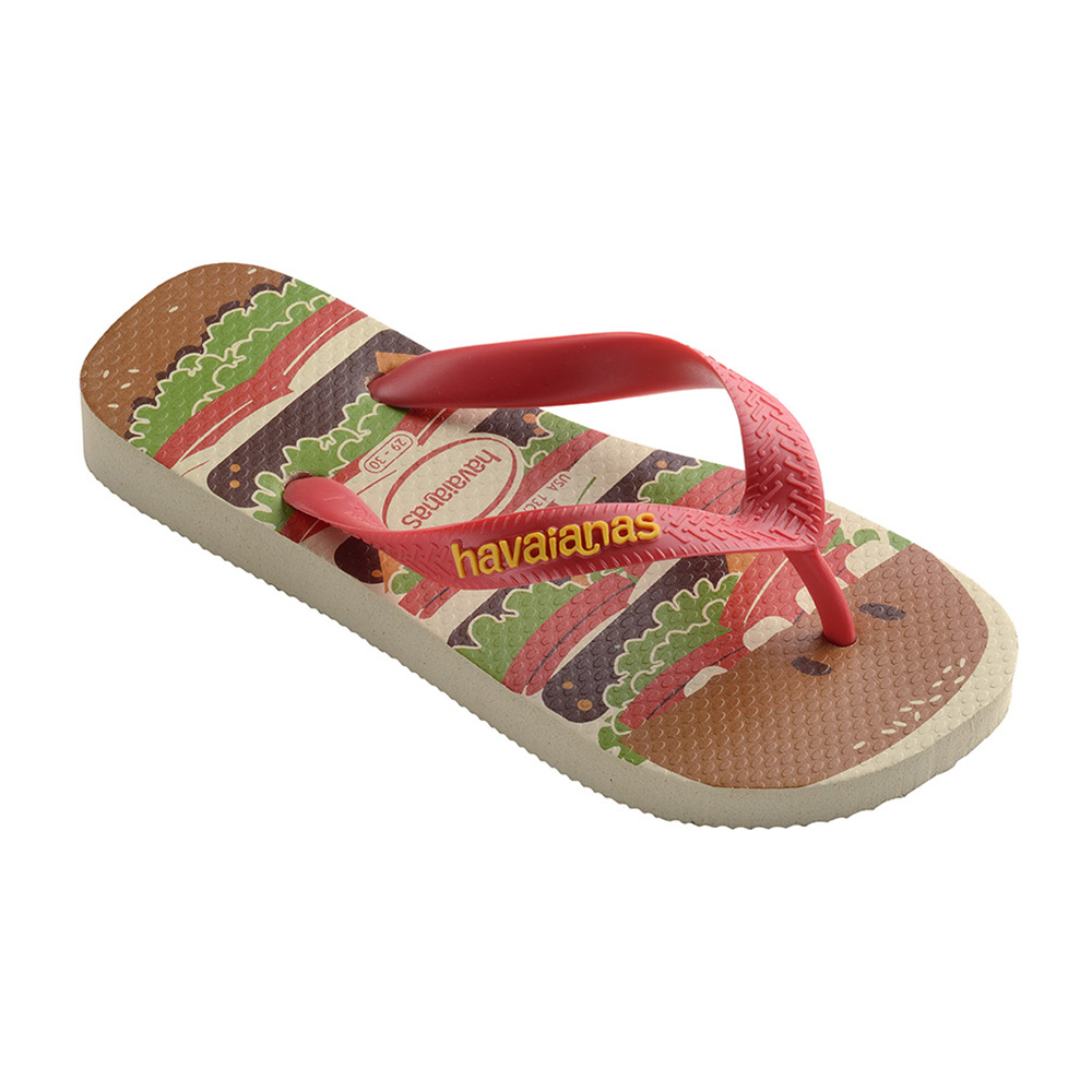 Sandálias Havaianas Kids TOP Food CF